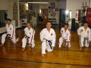 Masters training at Paterson